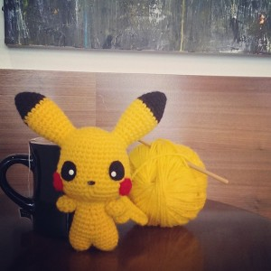 Pikachu – An Exhibit of My Developing Crochet Skills
