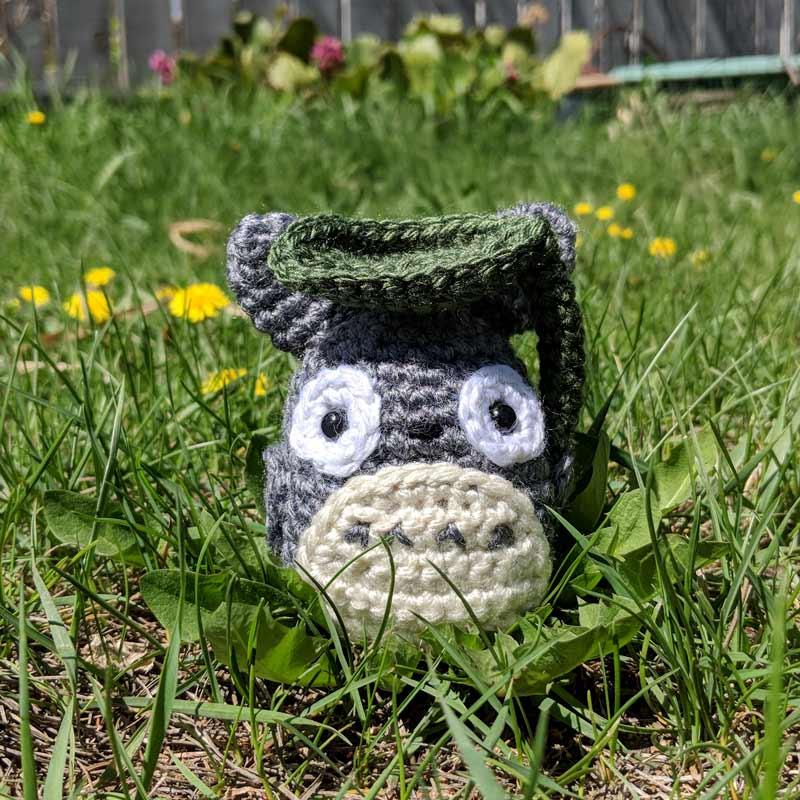 Totoro Crochet Amigurumi Pattern
