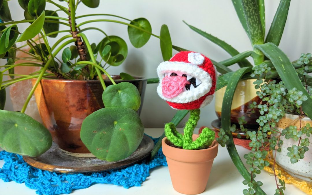 Piranha Plant Amigurumi Crochet Pattern