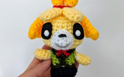 Animal Crossing – Isabelle Amigurumi Pattern