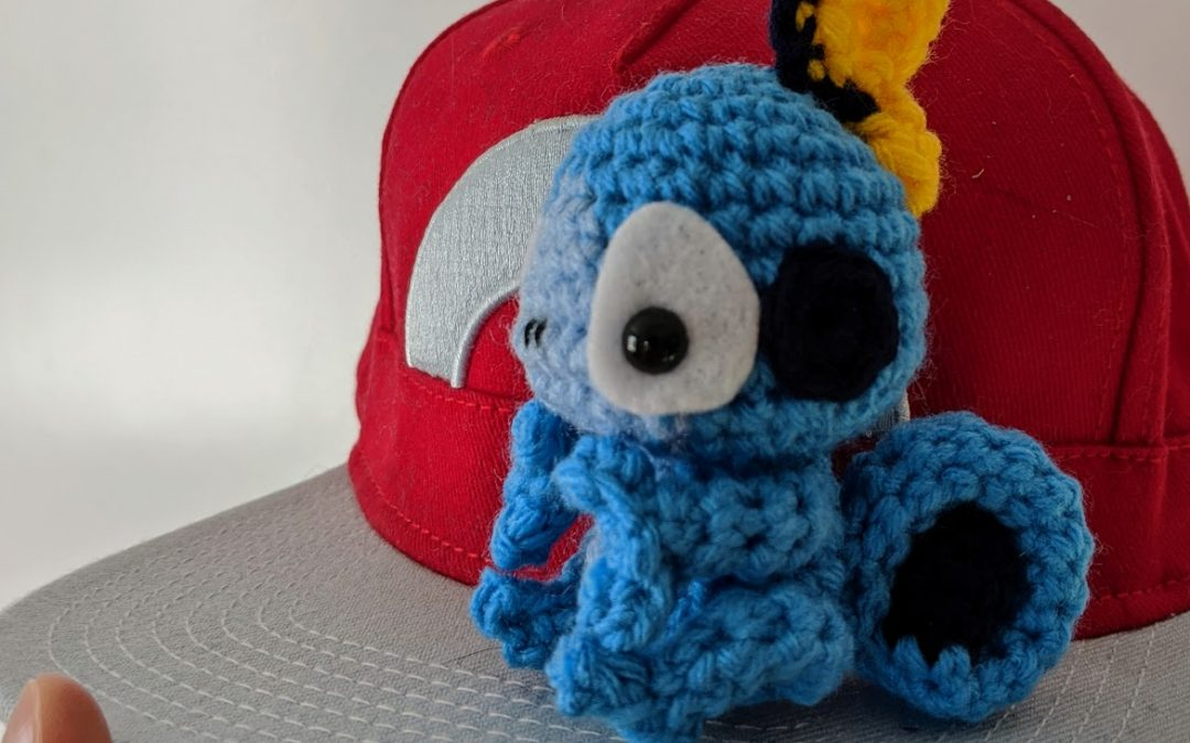 Sobble Amigurumi Crochet Pattern