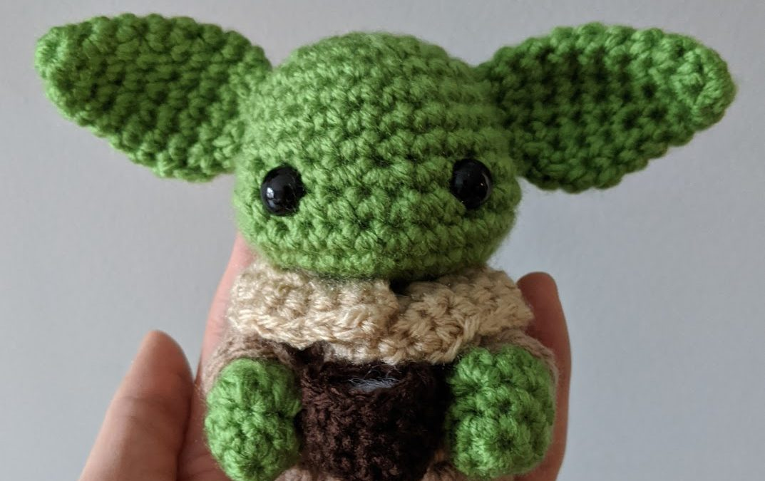 """The Child"" (Baby Yoda) Amigurumi Crochet Pattern"