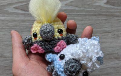 Cockatiel Birb Amigurumi Crochet Pattern