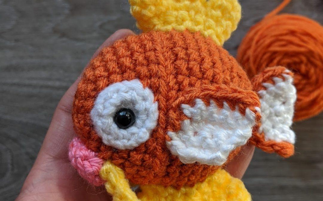 Magikarp Amigurumi Crochet Pattern