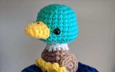 Mallard Duck Amigurumi Crochet pattern