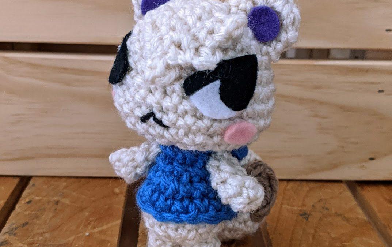 Marshal (Animal Crossing) Amigurumi Pattern