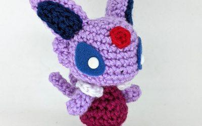 Espeon (AC Version) Amigurumi Pattern