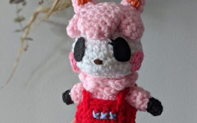 Reese (Animal Crossing) Amigurumi Pattern