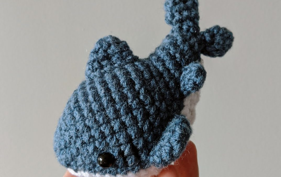 Free Crochet Pattern | Baby Shark Chunky Amigurumi | Keep Calm and ... | 675x1073