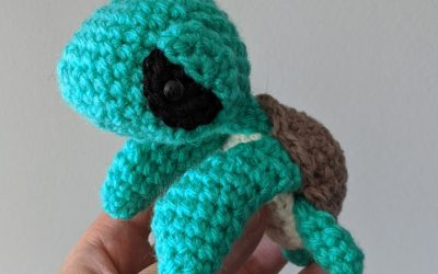 Sea Turtle Amigurumi Crochet Pattern