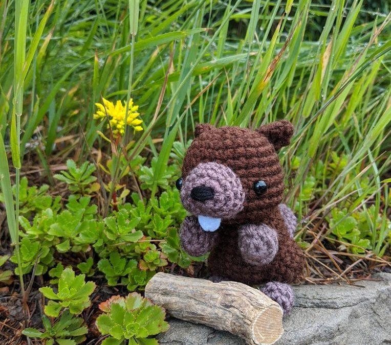 Beaver Amigurumi Crochet Pattern