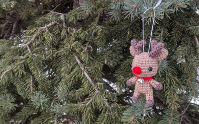 Reindeer Amigurumi Crochet Pattern
