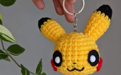 Pikachu Keychain Amigurumi Crochet Pattern