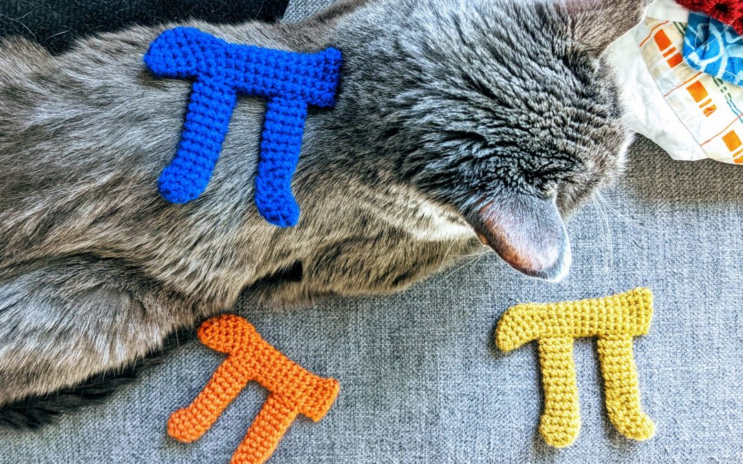 Pi Symbol Amigurumi Crochet Pattern