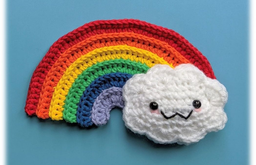 Rainbow Cloud Amigurumi Crochet Pattern