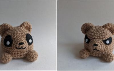 Mini Reversible Critter Amigurumi Crochet Pattern